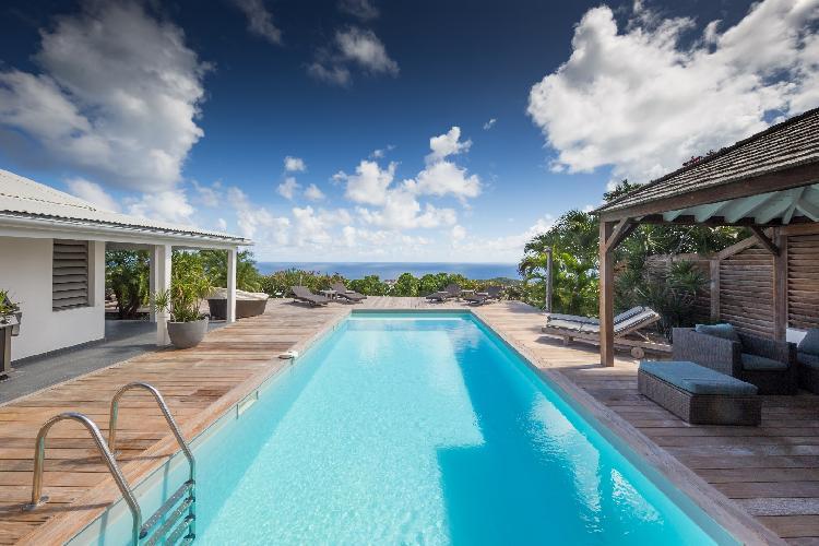 beautiful Saint Barth Villa Manonjul Estate luxury holiday home, vacation rental