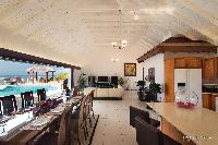 cool breakfast bar at Saint Barth Villa The Panorama Estate luxury holiday home, vacation rental