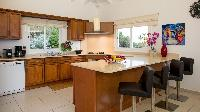 modern kitchen appliances in Saint Barth Villa The Panorama Estate luxury vacation rental