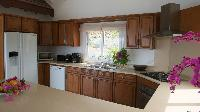 nice kitchen of Saint Barth Villa The Panorama Estate luxury holiday home, vacation rental
