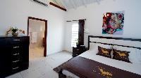 crisp bed sheets in Saint Barth Villa The Panorama Estate luxury holiday home, vacation rental