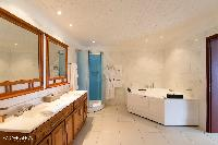 fabulous bathroom in Saint Barth Villa The Panorama Estate luxury holiday home, vacation rental