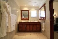 elegant lavatory in Saint Barth Villa The Panorama Estate luxury holiday home, vacation rental