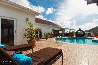 awesome poolside of Saint Barth Villa The Panorama Estate luxury holiday home, vacation rental