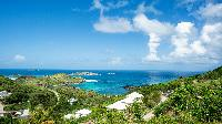 beautiful sea view from Saint Barth Villa The Panorama Estate luxury holiday home, vacation rental