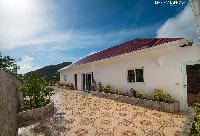 cool grounds of Saint Barth Villa The Panorama Estate luxury holiday home, vacation rental