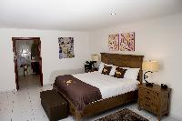 clean bed sheets in Saint Barth Villa The Panorama Estate luxury holiday home, vacation rental