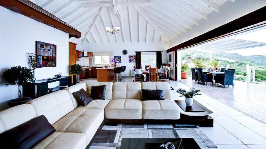 delightful Saint Barth Villa The Panorama Estate luxury holiday home, vacation rental