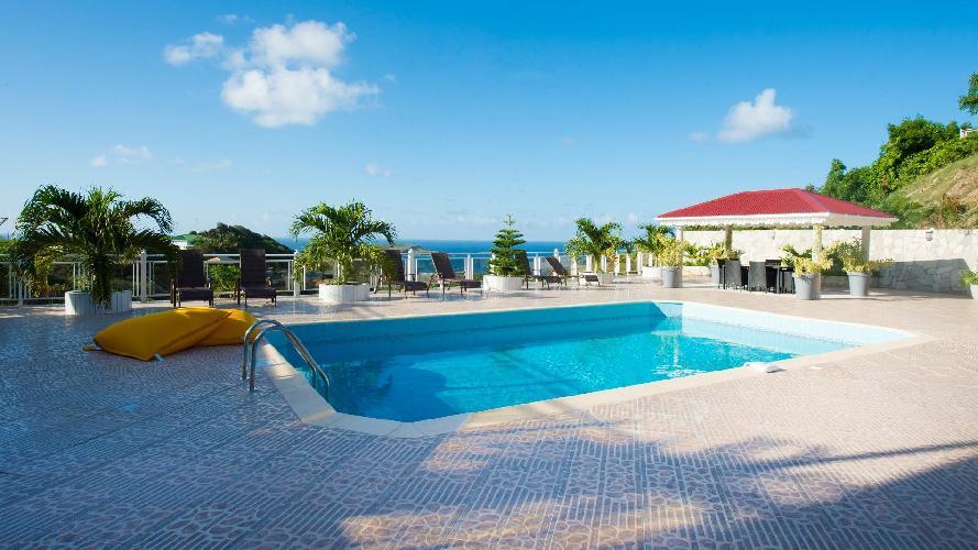 beautiful Saint Barth Villa The Panorama Estate luxury holiday home, vacation rental
