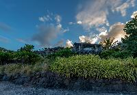 lush garden of Saint Barth Villa Sereno 1 luxury holiday home, vacation rental