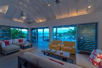 awesome sea view from Saint Barth Villa Sereno 3 luxury holiday home, vacation rental