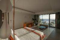 lovely bedroom in Saint Barth Villa Axel Rocks luxury holiday home, vacation rental