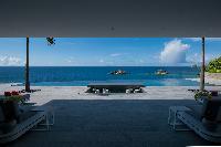 cool seaside Saint Barth Villa Axel Rocks luxury holiday home, vacation rental