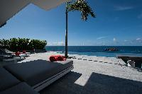 amazing pool of Saint Barth Villa Axel Rocks luxury holiday home, vacation rental