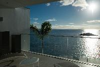 cool infinity pool of Saint Barth Villa Axel Rocks luxury holiday home, vacation rental