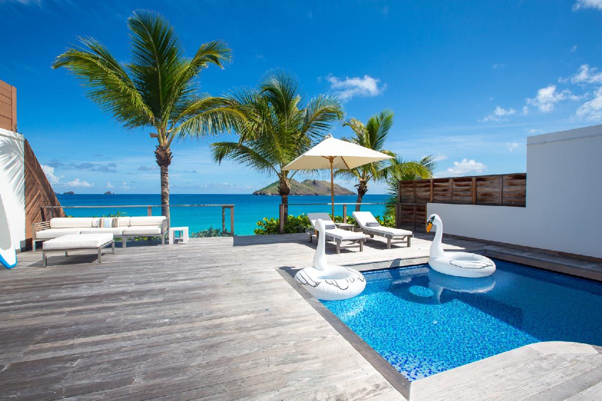 picture-perfect Saint Barth Luxury Villa Ganesha holiday home, vacation rental