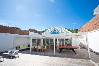 cool cabana of Saint Barth Luxury Villa Ganesha holiday home, vacation rental