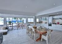 cool dining room of Saint Barth Luxury Villa Ganesha holiday home, vacation rental