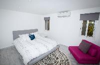 clean bed sheets in Saint Barth Luxury Villa Ganesha holiday home, vacation rental