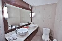 clean bathroom in Saint Barth Luxury Villa Ganesha holiday home, vacation rental