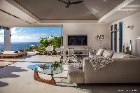 cool lanai of Saint Barth Villa Legends B luxury apartment, holiday home, vacation rental