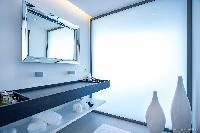 clean bathroom in Saint Barth Villa Legends B luxury apartment, holiday home, vacation rental