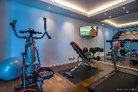 cool gym in Saint Barth Villa Legends B luxury apartment, holiday home, vacation rental