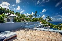 cool poolside Saint Barth Villa Legends B luxury apartment, holiday home, vacation rental