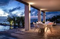cool veranda of Saint Barth Villa Legends B luxury apartment, holiday home, vacation rental