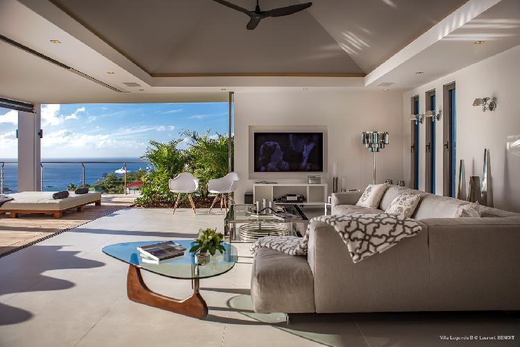 cool lanai of Saint Barth Villa Legends B luxury apartment, holiday home, vacation rental