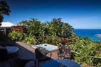 beautiful sea view from Saint Barth Villa Manonjul 2 luxury holiday home, vacation rental