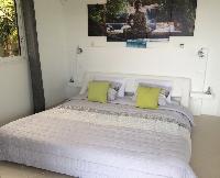 pristine bedding in Saint Barth Villa Tessy luxury holiday home, vacation rental