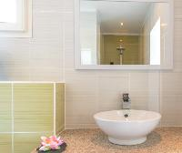 clean bathroom in Saint Barth Villa Tessy luxury holiday home, vacation rental