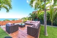 beautiful sea view from Saint Barth Villa Tessy luxury holiday home, vacation rental