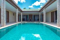 cool swimming pool of Saint Barth Villa Tessy luxury holiday home, vacation rental