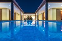 awesome swimming pool of Saint Barth Villa Tessy luxury holiday home, vacation rental