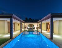 amazing swimming pool of Saint Barth Villa Tessy luxury holiday home, vacation rental