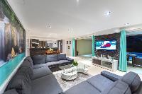 nice interiors of Saint Barth Villa Tessy luxury holiday home, vacation rental
