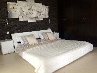 clean bedroom linens in Saint Barth Villa Tessy luxury holiday home, vacation rental
