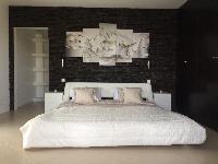 fresh bed sheets in Saint Barth Villa Tessy luxury holiday home, vacation rental