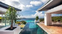 awesome pool of Saint Barth Villa Wings luxury holiday home, vacation rental