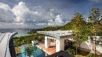 incredible sea view from Saint Barth Villa Wings luxury holiday home, vacation rental