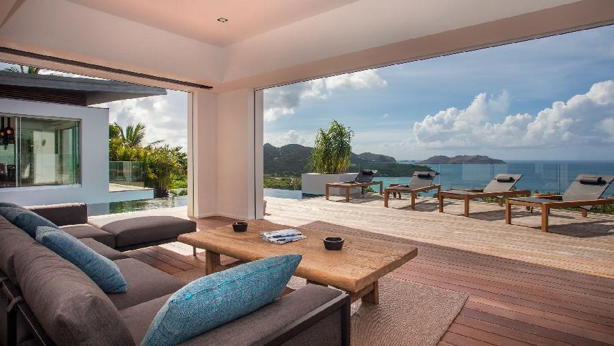 amazing Saint Barth Villa Wings luxury holiday home, vacation rental