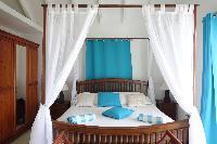 lovely bedroom in Saint Barth Villa Aquamarine luxury vacation rental