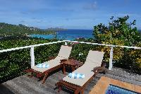 cool beachfront Saint Barth Villa Aquamarine luxury vacation rental