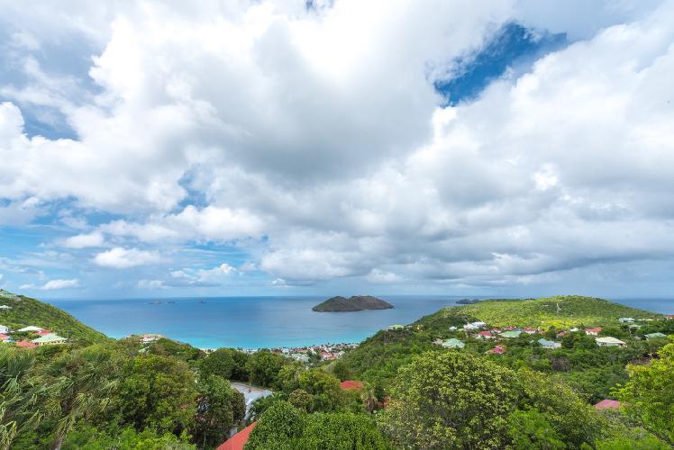 gorgeous Saint Barth Villa Bungalow Hansen luxury holiday home, vacation rental