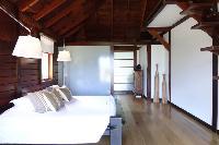 fresh bedroom linens in Saint Barth Villa Mak luxury holiday home, vacation rental