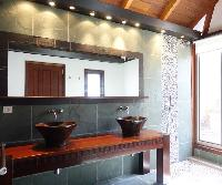 clean bathroom in Saint Barth Villa Mak luxury holiday home, vacation rental