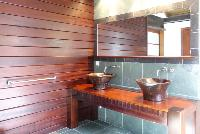 clean lavatory in Saint Barth Villa Mak luxury holiday home, vacation rental