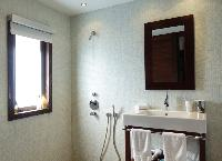 cool shower in Saint Barth Villa Mak luxury holiday home, vacation rental